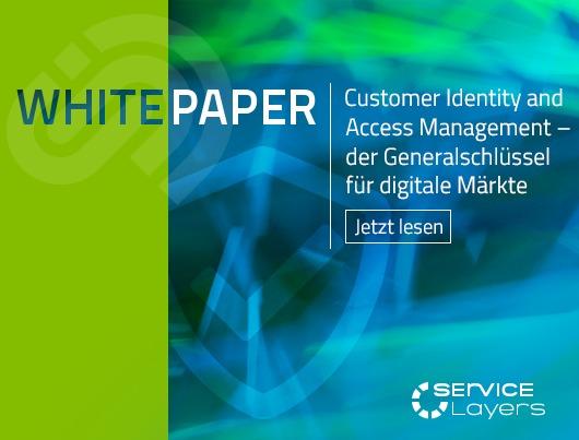 Whitepaper: Customer Identity and Access Management - der Generalschlüssel für digitale Märkte. Jetzt lesen.