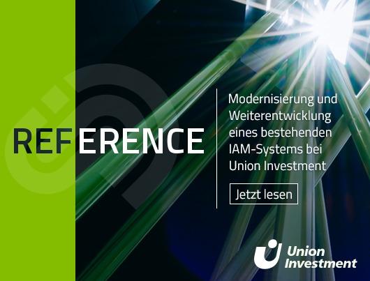 Referenz Story: Modernisierung und Weiterentwicklung eines bestehenden IAM-Systems bei Union Investment