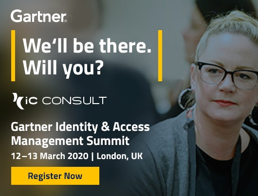 Gartner Identity & Access Management Summit, 12-13 March 2020, London, UK. Register now.