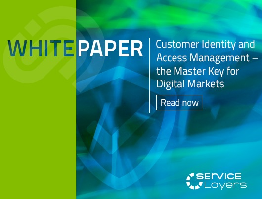 Whitepaper: Customer Identity and Access Management - the Master Key for Digital Markets. Read now.