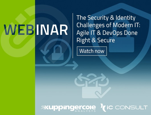 Webinar: The Security & Identity challenges of modern IT: Agile IT & DevOps done right & secure
