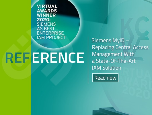 Reference Story: Siemens MyID - Replacing Central Access Management with a State-of-the-Art IAM Solution