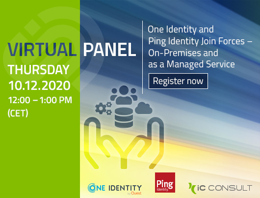 Webinar: One Identity and Ping Identity Join Forces – On-Premises and as a Managed Service