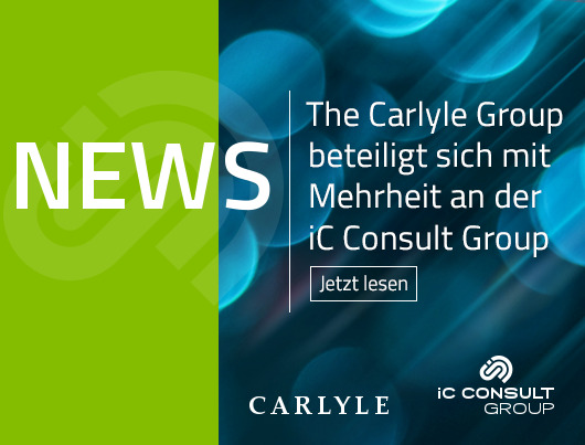 News: The Carlyle Group beteiligt sich mit Mehrheit an der iC Consult Group