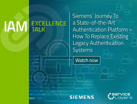 Siemens' Journey To a State-of-the-Art Authentication Platform –  How To Replace Existing Legacy Authentication Systems