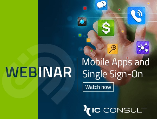 Webinar: Mobile Apps and Single Sign-On. Watch now.