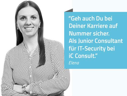 Geh auch Du bei Deiner Karriere auf Nummer sicher. Als Junior Consultant für IT-Security bei iC Consult.